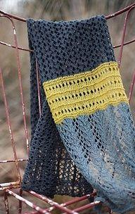 Hill Country Weavers Lady Fern Lace Scarf/Shawl Knitting Pattern