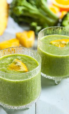 Fruity Green Smoothie #VegaSmoothie