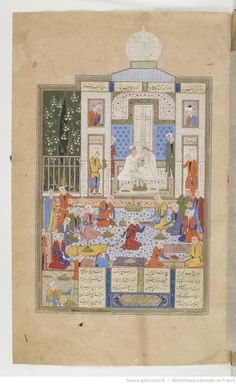 Khamseh. Nezâmi 1560-61 Supplément Persan 1956 f173r