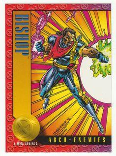X-Men Series 2 - Bishop vs. Fitzroy # 40 Skybox 1993