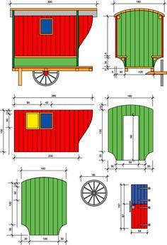 Verdine et Chariot de berger - maison de poupée - vitrines miniatures