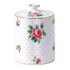 product image for Royal Albert Roses Tea Caddy in Pink