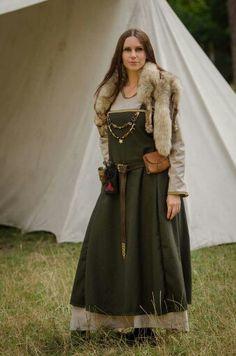 Lotr female dwarf - viking - LARP Fot. Marcin Bronowski