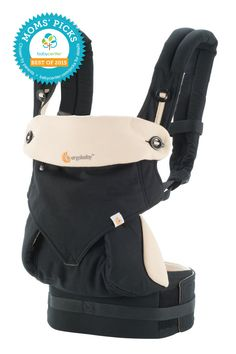 Ergobaby Four-Position 360 Baby Carrier features ultimate comfort for you and Baby—it's no wonder it's a BabyCenter Moms' Pick. This carrier offers four comfortable, ergonomic ways to carry Baby: front-inward, front-outward, hip and back positions. Plus, it features an extra-wide velcro waistband and padded shoulder strap to keep Mom and Dad supported!