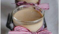 Panacotta au foie gras et compotée pommes figues