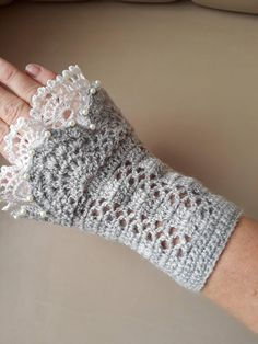 Items similar to Grey fingerless gloves Hand warmers Crochet mittens Crochet gloves Womens accessories Gift for her Warm gloves Crochet fingerless on Etsy Fingerless Gloves Crochet Pattern, Crochet Mittens, Crochet Shawl, Fingerless Mittens, Crochet Granny, Crochet Wrist Warmers, Crochet For Beginners, Crochet Accessories, Crochet Clothes
