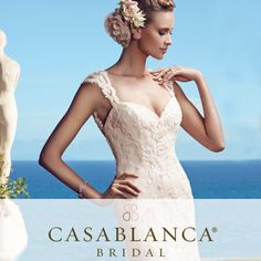 .@casablancabrida has wedding gowns that are made-to-order just for you!  #BRIDESInfluencer
