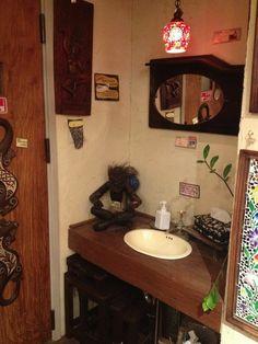 Ethnic bathroom