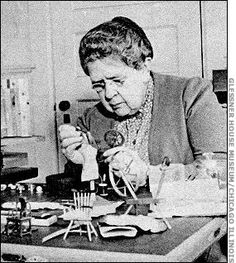 "Frances Glessner Lee~ ""The Nutshell Studies of Unexplained Death."""