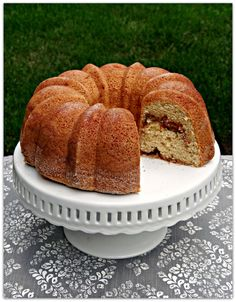 Snickerdoodle Bundt Cake Looks like the perfect cake for my husband and son who love snickerdoodles! Yep! Definitely a winner!
