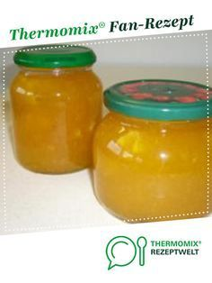 Orangenmarmelade Orange jam from Thermomix recipe development. A Thermomix ® recipe from the Sauces / Dips / Spreads category www.de, the Thermomix® Community. How To Make Dough, Food To Make, Kitchenaid, Fermented Bread, Orange Jam, Sauces, Canned Heat, Keto Drink, Ice Cream Party