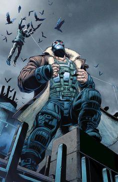 Asylum Kollectibles Specialize in Comic Books, & Action Figures. Comic Movies, Comic Books Art, Comic Art, Gotham Villains, Comic Villains, Bane Batman, Batman Art, Batman Universe, Comics Universe
