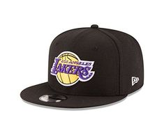 New Era Los Angeles Lakers Black Official Team Color Adjustable Snapback Hat 64f55fcfc6e3