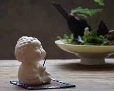 Baby Buddha, Little Buddha, Buddha Decor, Buddha Art, White Buddha Statue, Buddha Flower, Buda Zen, Buddha Sculpture, Buddha Meditation