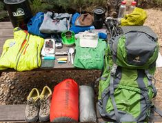 What's in a John Muir Trail Guide's Pack?