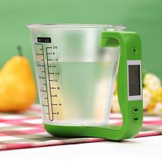 Digital measuring cup for all the bakers!