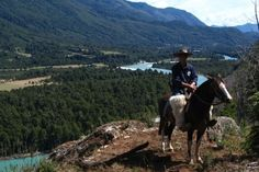 The Huaso Trail - 7 days / 6 nights. Horse riding holiday Patagonia. www.stable-mates.com