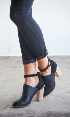 great shoes + jeans combo