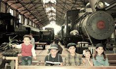 Fair Grounds, Trains