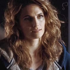 Stana Katic ❤️ one of my favorite hair styles of hers