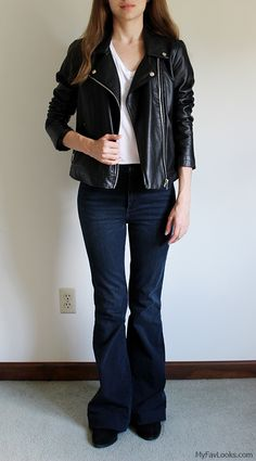 How to wear flare jeans. 25 outfits
