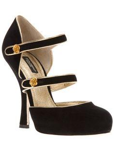 Dolce & Gabbana Strap Pump