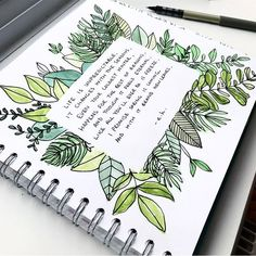 Find inspiration for your art journal by looking around you. How has the summer season influenced you journal? Bullet Journal Quote Page, Bullet Journal Ideas Pages, My Journal, Bullet Journal Inspiration, Bullet Journal Leaves, Bullet Journals, March Bullet Journal, Art Journals, Bullet Journal Writing Styles