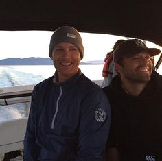 Pin for Later: 14 Jensen Ackles and Misha Collins Moments That Were Too Much to Handle When They Took a Beautiful Sunset Boat Ride Together