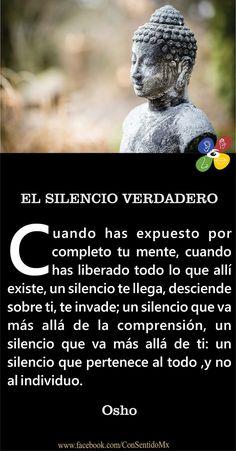 ... El silencio verdadero. Osho.