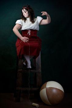 Serie IL FAVOLOSO MONDO: la Bambola - stampa fotografica cm 75x50