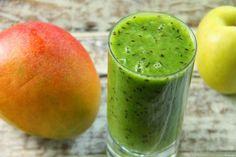 Kuchnia w wersji light: Zielony koktajl z pomelo i mango