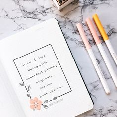 Amiza Omar ♛ on Inst Bullet Journal Writing, Bullet Journal Quotes, Bullet Journal 2020, Bullet Journal Aesthetic, Bullet Journal Ideas Pages, Bullet Journal Inspo, Hand Lettering Art, Journal Themes, Ideias Diy