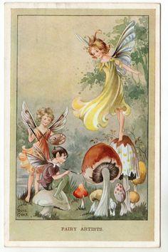 Rene Cloke postcard c1940s | eBay