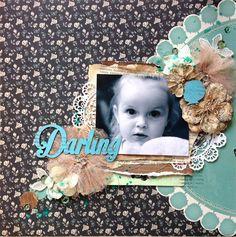 """""""Darling"""" by Olga Eltysheva - C'est Magnifique March 2015 Kit"""