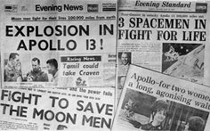 "On this day, 04/13/1970 Apollo 13: ""Houston, we have a problem"""