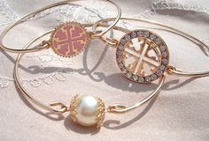 Set of three bangle--Tori Birch inspired collection. All 3 for only $21.95!