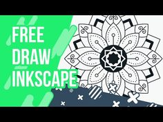 FREE DRAW WITH INKSCAPE #29 : MANDALA STYLE Vector Design, Web Design, Graphic Design, Inkscape Tutorials, Silhouette Curio, Bible Verses Quotes, Mandala Design, Digital Art, Cricut
