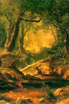 Albert Bierstadt White Mountains New Hampshire 2 Art Print Poster Posters at AllPosters.com