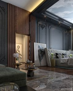 contemporary classic master bedroom - contemporary classic master bedroom on Behance - Luxury Bedroom Design, Master Bedroom Design, Bedroom Designs, Master Suite, Contemporary Classic, Contemporary Bedroom, Modern Bedroom, Bedroom Decor, Bedroom Ideas