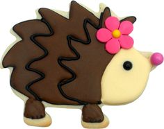 Hedgehog cookie