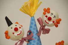 clown cake, cake pops, cakepop, cake popper