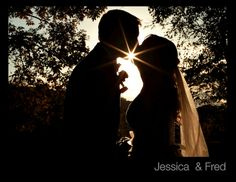 Silhouette - Bally Springs Inn Wedding - www.Barnoneweddings.com
