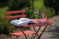 Lesen im Garten - Entspannung pur...
