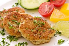Easiest paleo salmon or tuna cakes ever: 2 6oz cans/pouches tuna or salmon 1 egg or 2 egg whites spices coconut oil for pan frying