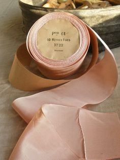 pink French grosgrain ballet ribbon