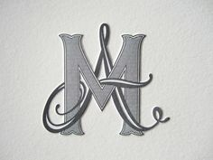 Custom monogram for couple getting married. Designed by Lindsay Chenault Bolton.