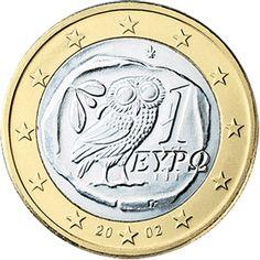 Griechische Ein-Euro-Münze © Europäische Zentralbank