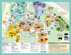 Map ~ San Francisco Zoo ~ San Francisco ~ California