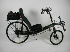 Lightning R-84 Carbon Fiber Recumbent with Rohloff Internal Geared Hub in Sporting Goods   eBay