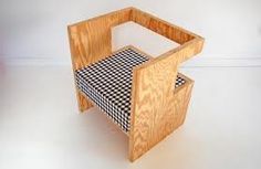 Field Recordings Made From Wood Plywood Furniture, Osb Plywood, Plywood Chair, Small Furniture, Pallet Furniture, Furniture Making, Modern Furniture, Furniture Design, Furniture Nyc